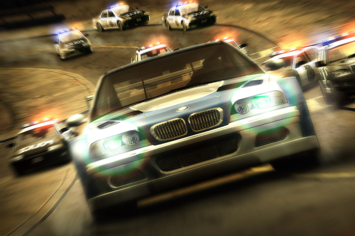 Screenshot №1 pro téma Nfs Most Wanted