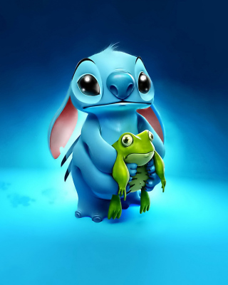 Stitch Film Background for Nokia Asha 310