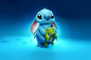 Stitch Film Background for Desktop 1280x720 HDTV