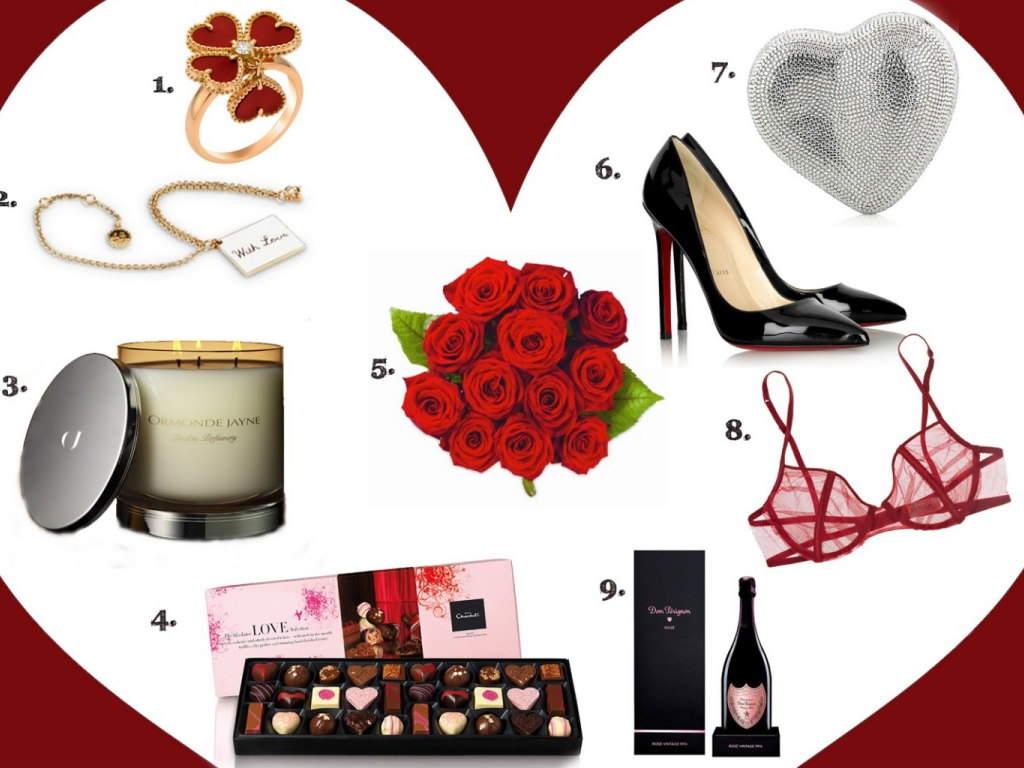 Valentines Day Gifts wallpaper 1024x768