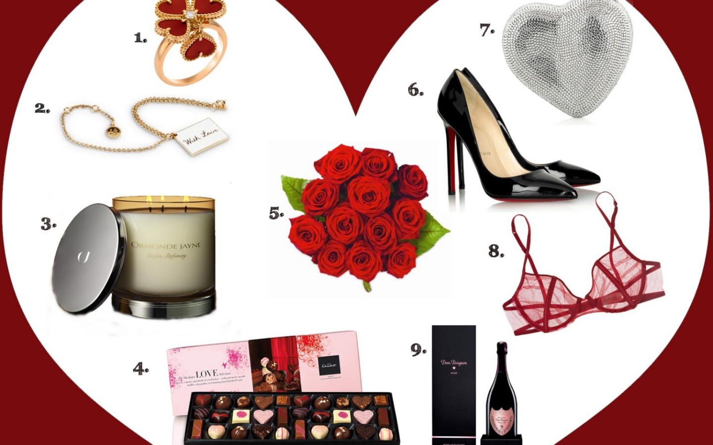 Valentines Day Gifts wallpaper 1440x900
