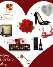 Valentines Day Gifts wallpaper 176x220