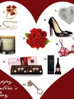 Valentines Day Gifts wallpaper 240x320