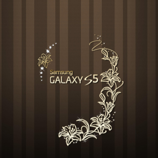 Samsung Galaxy S5 Golden Background for LG KP105