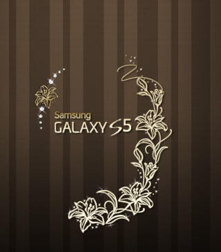 Samsung Galaxy S5 Golden Wallpaper for HTC Titan