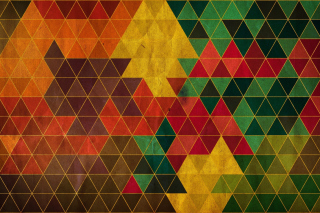 Colorful Triangles Wallpaper for Android, iPhone and iPad
