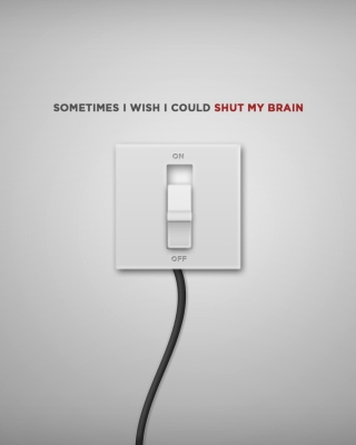 Shut My Brain sfondi gratuiti per iPhone 4S