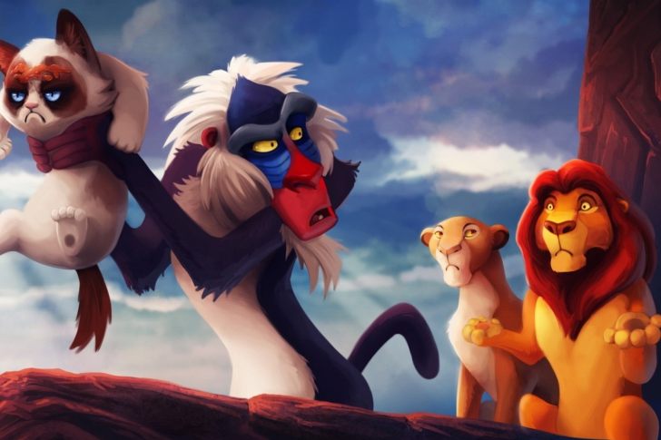 Screenshot №1 pro téma The Lion King
