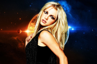 Free Britney Spears Picture for Motorola DROID 3