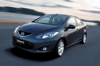 Mazda 2 Sedan Background for Android, iPhone and iPad