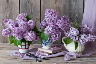 Lilac Bouquet Wallpaper for Android, iPhone and iPad