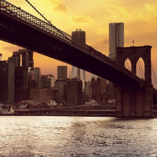 Brooklyn Bridge sfondi gratuiti per iPad