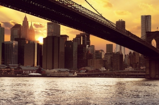 Brooklyn Bridge Background for Android, iPhone and iPad