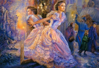 Josephine Wall Paintings - Alternative Reality sfondi gratuiti per cellulari Android, iPhone, iPad e desktop