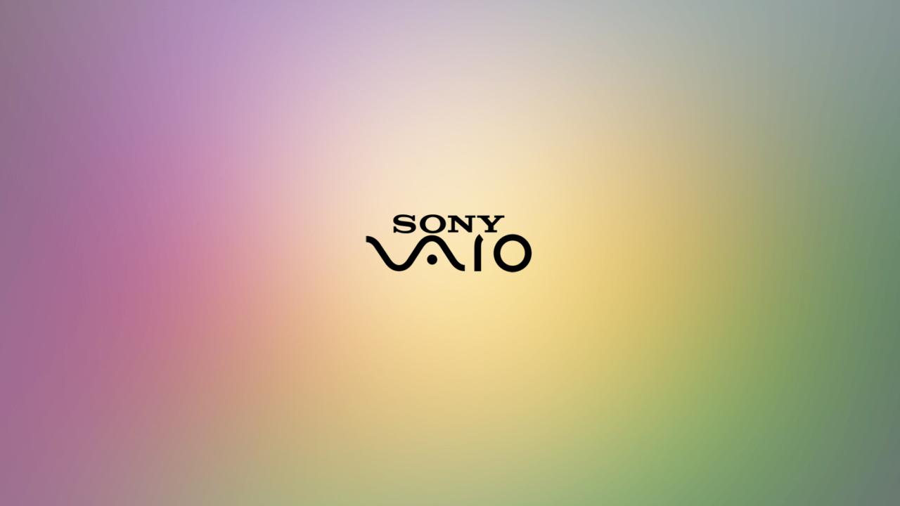 Sony Vaio Logo Purple