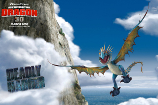 How to Train Your Dragon - Obrázkek zdarma pro LG P500 Optimus One