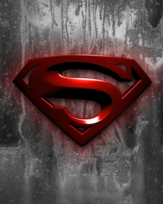 Superman Logo Wallpaper for Nokia Asha 306
