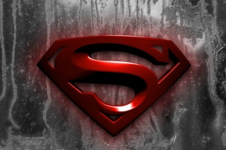 Superman Logo Wallpaper for 960x800