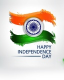 Screenshot №1 pro téma Independence Day India 128x160