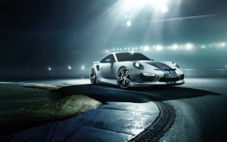 2014 Porsche 911 Turbo Wallpaper for Android, iPhone and iPad