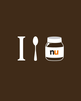 I Love Nutella Wallpaper for iPhone 6 Plus