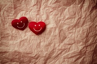 Smiling Hearts Wallpaper for Android, iPhone and iPad