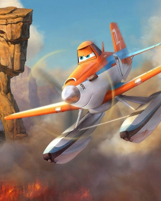 Planes Fire and Rescue 2014 Background for Nokia C1-01