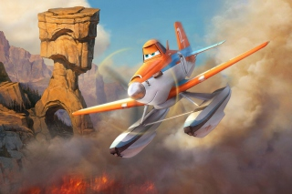 Planes Fire and Rescue 2014 papel de parede para celular para Sony Xperia C3