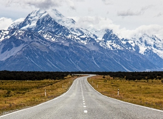 Mount Cook in New Zealand Wallpaper for Android, iPhone and iPad