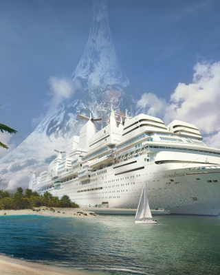 Cruise Ship Picture for HTC Titan