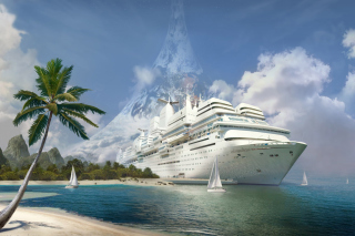 Cruise Ship Picture for Android, iPhone and iPad