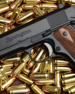 Pistol Remington Wallpaper for iPhone 5S