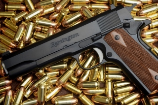Pistol Remington Background for Samsung Galaxy Tab 10.1