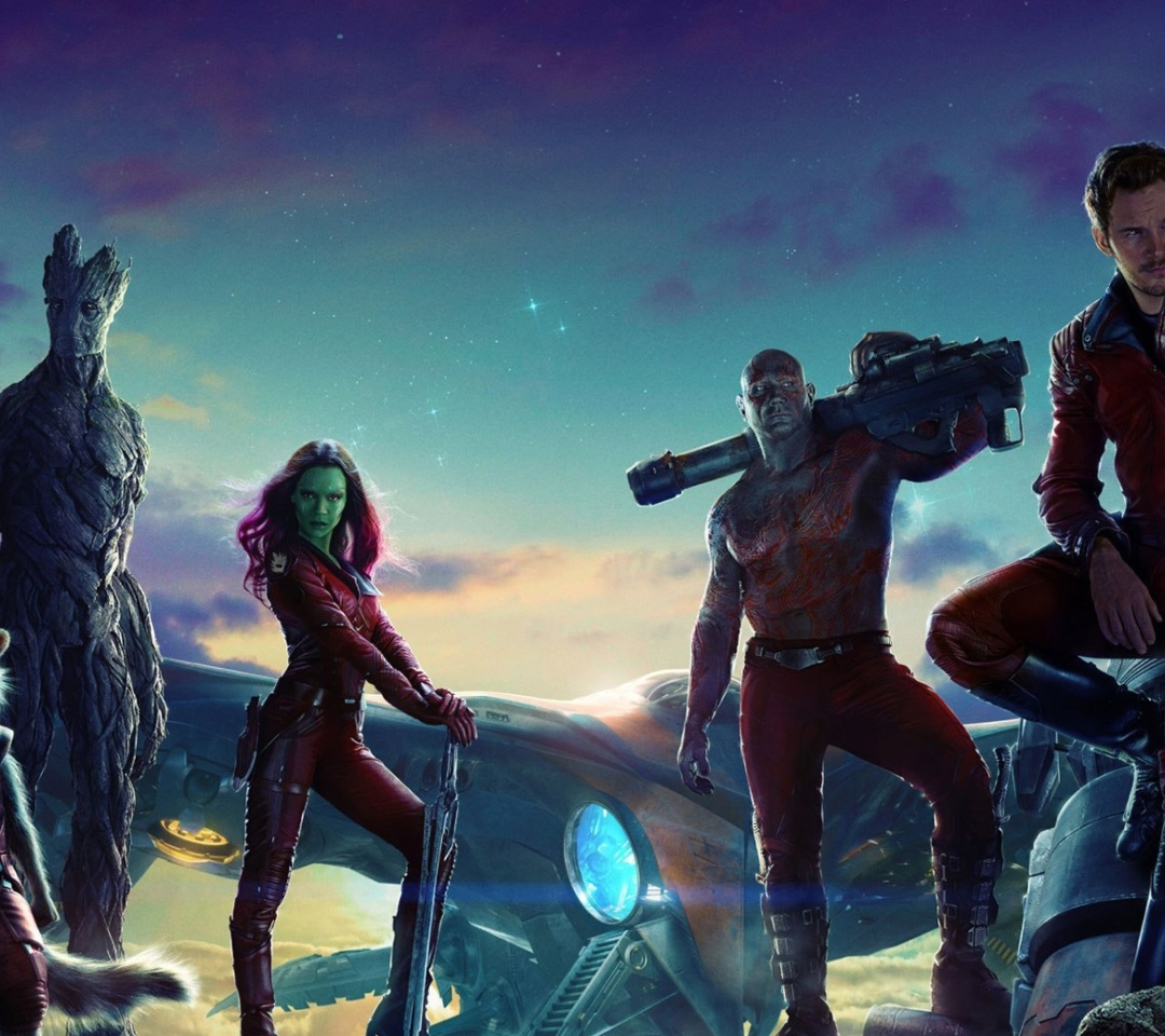 Screenshot №1 pro téma Guardians of the Galaxy 1080x960