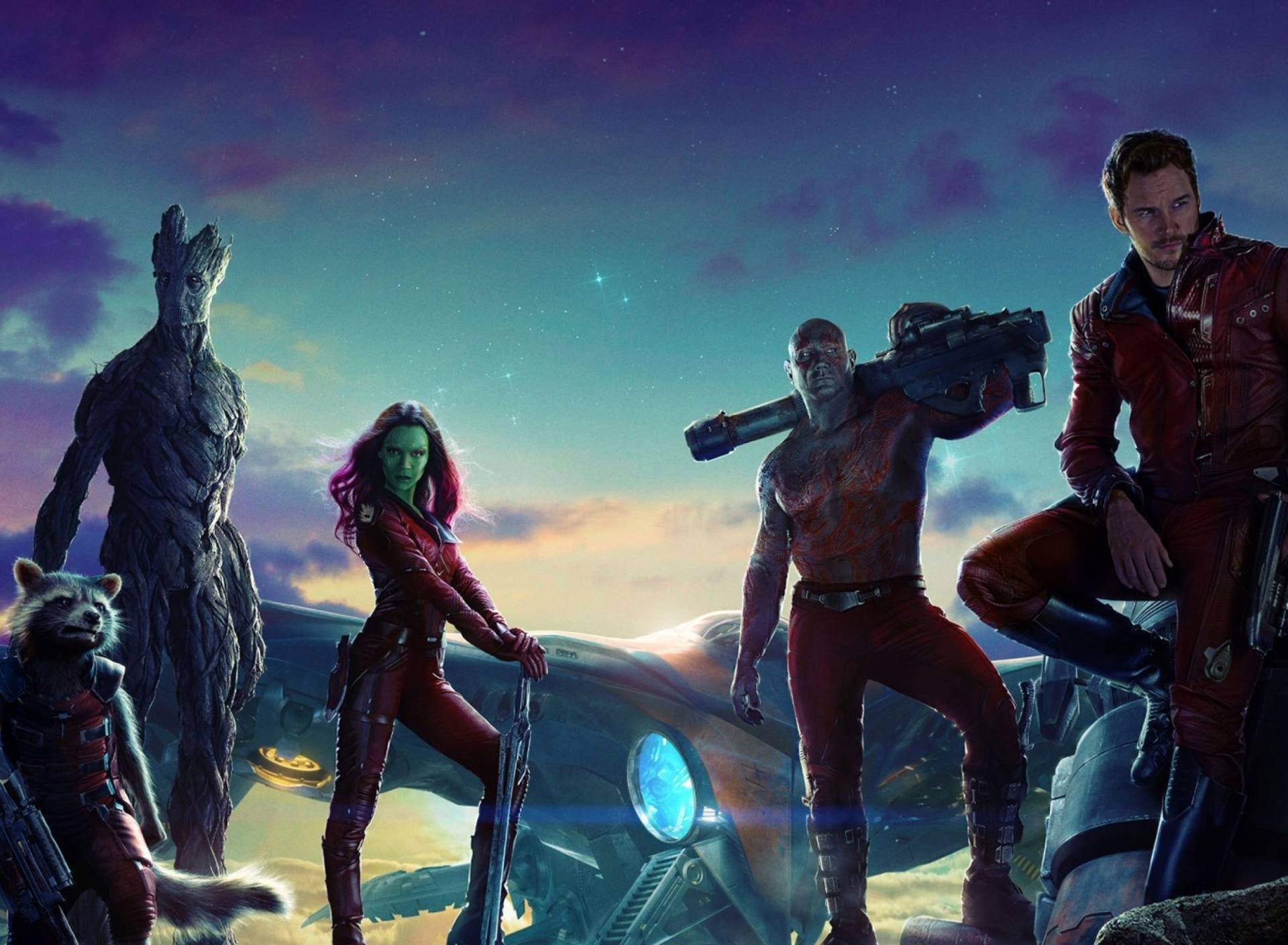 Screenshot №1 pro téma Guardians of the Galaxy 1920x1408