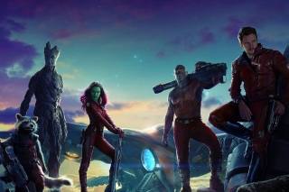 Guardians of the Galaxy sfondi gratuiti per 1024x600
