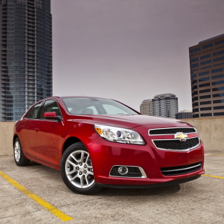 Chevrolet Malibu Red sfondi gratuiti per iPad mini