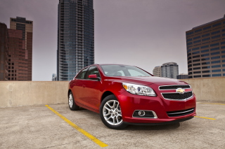 Free Chevrolet Malibu Red Picture for Android, iPhone and iPad