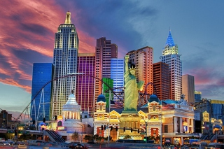 Las Vegas Hotel Background for Android, iPhone and iPad
