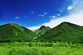 Green Hills Background for Desktop Netbook 1024x600