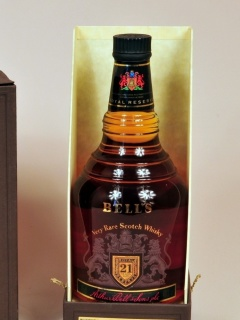 Обои Bells Scotch Blended Whisky 240x320