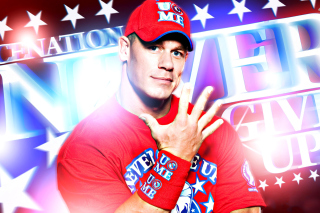 Kostenloses John Cena Wrestler and Rapper Wallpaper für 480x400