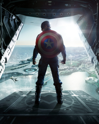 Captain America The Winter Soldier papel de parede para celular para iPhone 6