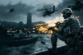 Battlefield 4 Siege Of Shanghai Picture for Android, iPhone and iPad