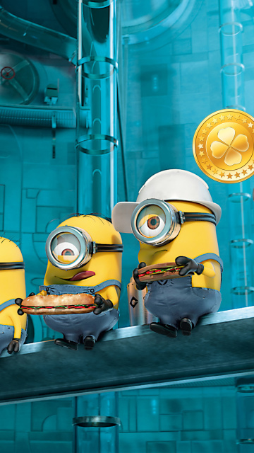 Minions at Work wallpaper 360x640