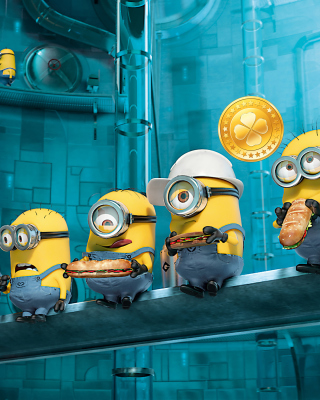 Minions at Work Background for Nokia C1-00