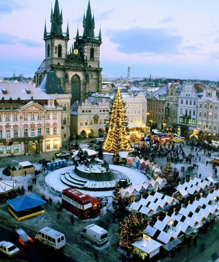 Praha Old Town Wallpaper for iPhone 6 Plus
