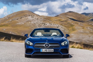 Mercedes Benz SL500 Background for 480x400
