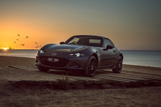 Mazda MX 5 RF 2018 Background for Android, iPhone and iPad
