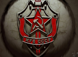 KGB - USSR Background for Samsung Galaxy Ace 4